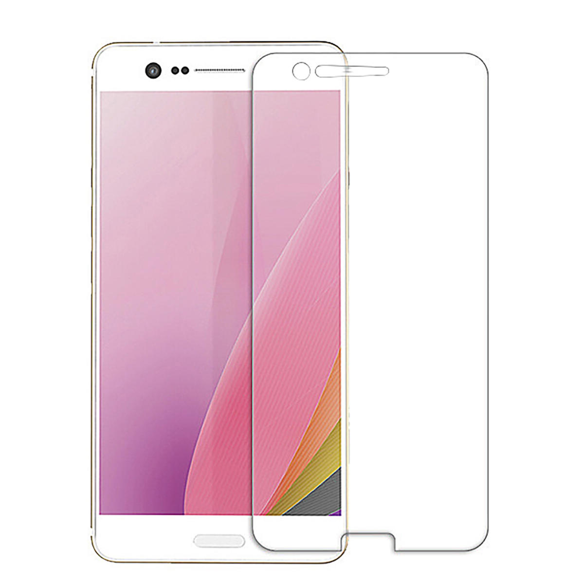 Bakeek 9H Anit-explosion Tempered Glass Screen Protector for Sharp Z3