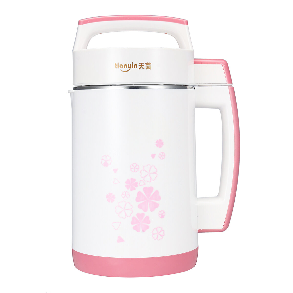 Tianyin Soy Milk Maker Soybean Cereal Soup Vegetable Juicer Rice Paste Machine Bean Blender 2L 800W