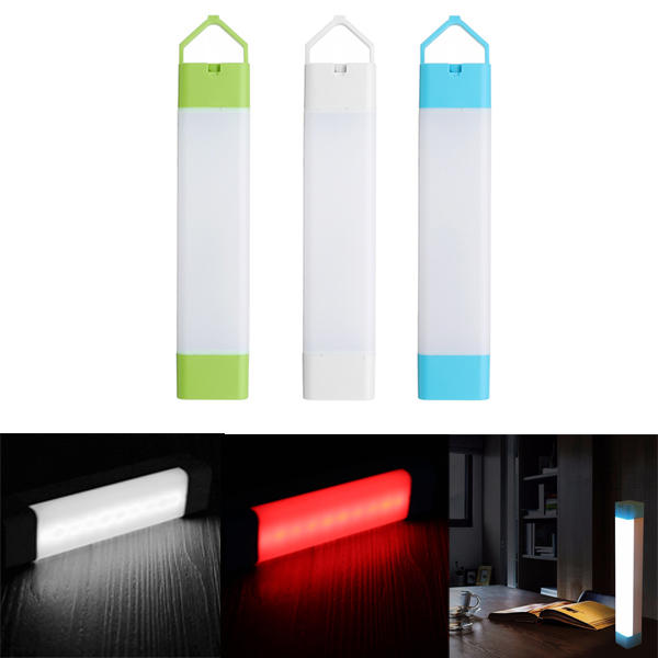 3pcs Portable LED Camping Light Stick Emergency Magnetic Work Lamp Lantern Rechargeable Outdoor Home