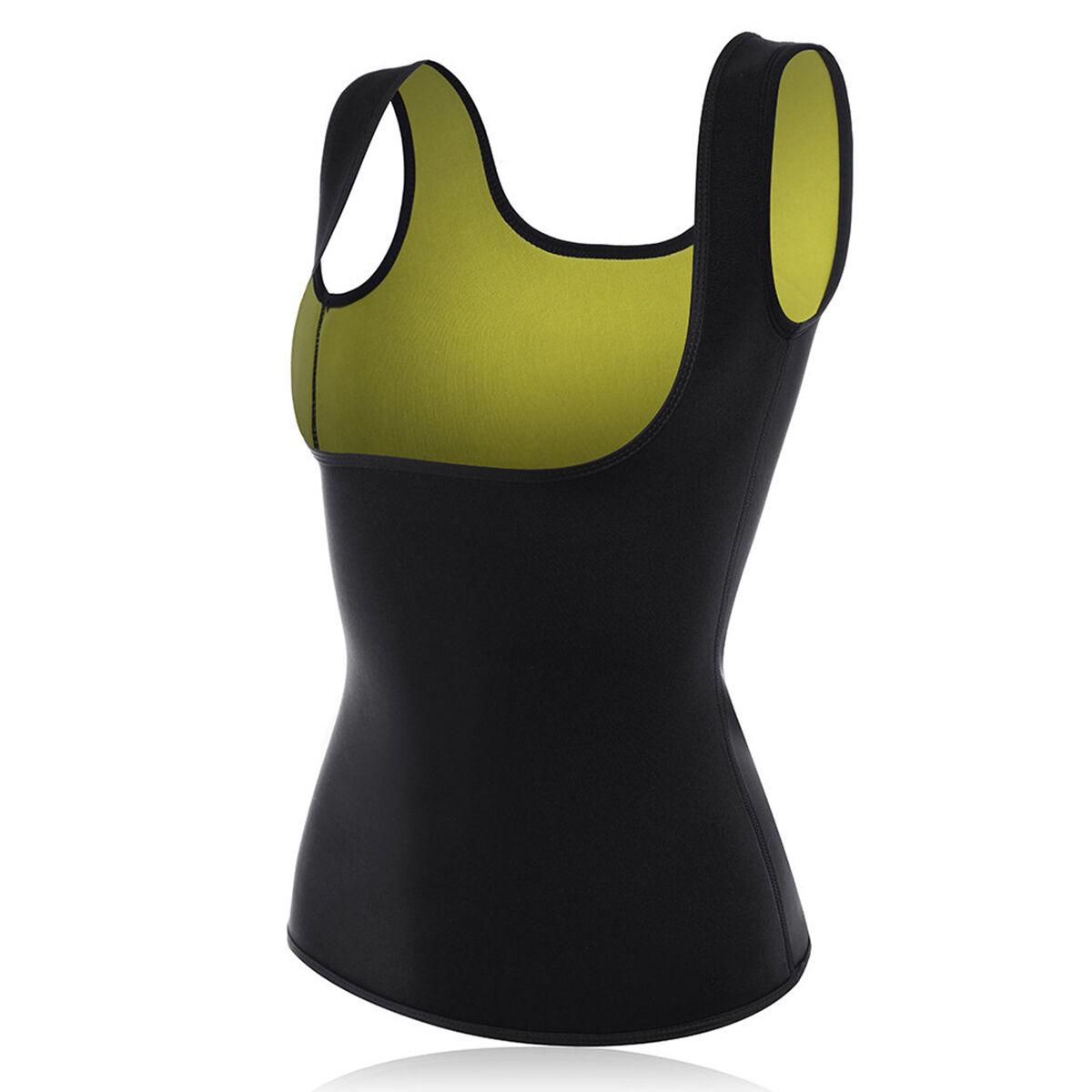 61f3084bab Women Slimming Vest Body Shaper Hot Thermo Sweat Neoprene Waist Trainer  Slimmer Corset COD