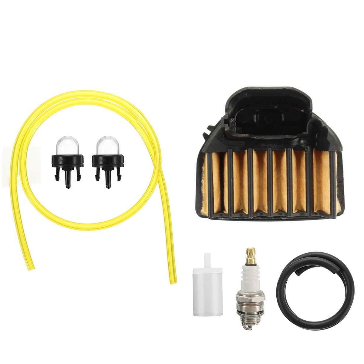 Air Fuel Filter Tune Up Service Kit for Husqvarna 455 455E 460 Rancher Chainsaw