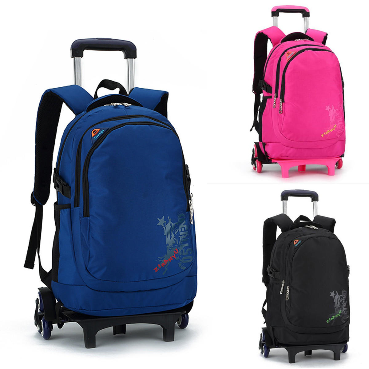 0f0e4f9031 35l trolley school bag camping travel luggage backpack children kids  student bags with wheels Sale - Banggood.com sold out