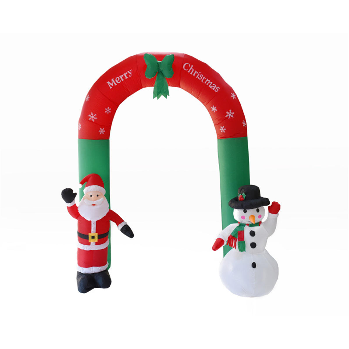 24m inflatable christmas arch santa snowman indoor outdoor decor decorations - Christmas Arch Decorations