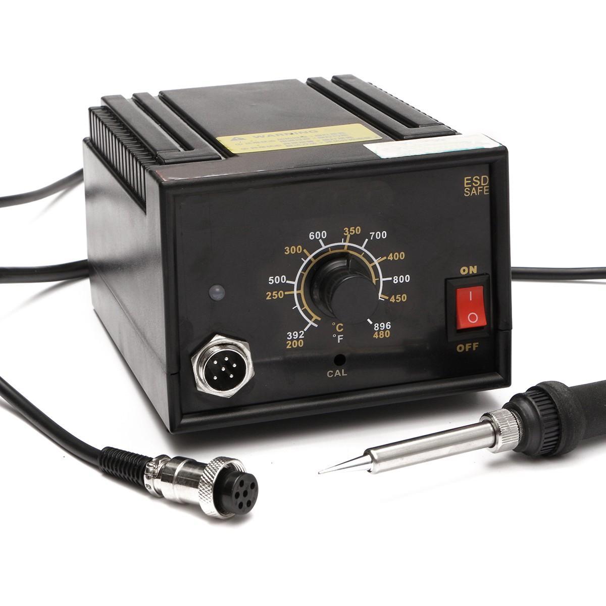 110V-220V 936 Inverter Frequency Change Electric Soldering Station Soldering Iron Set