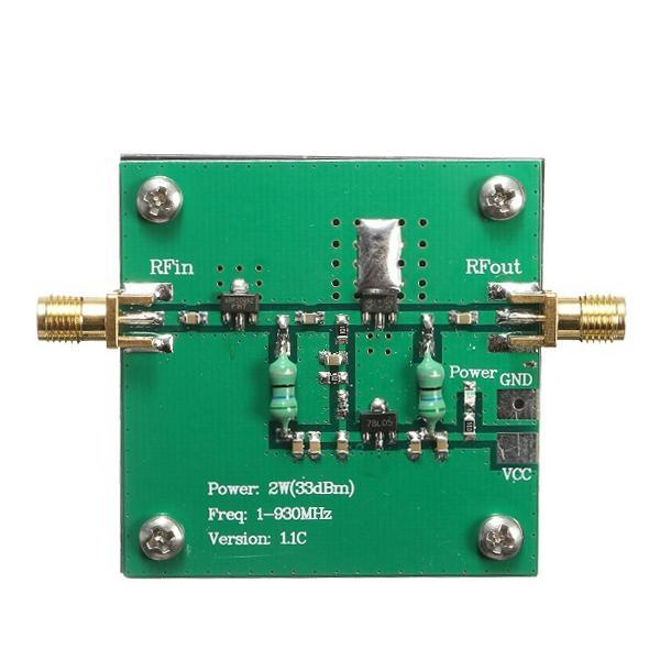 1-930MHz 2W RF Broadband Power Amplifier Module Voor Radio Transmissie FM HF VHF