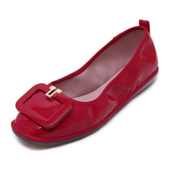 Новых мужчин случайные наружные плоские квадратный носок мягкие удобные плоские бездельников обувь