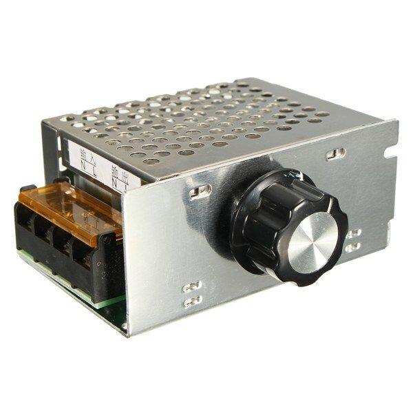 AC 220V 4000W SCR Voltage Regulator Dimmer Electronic Motor Speed Controller