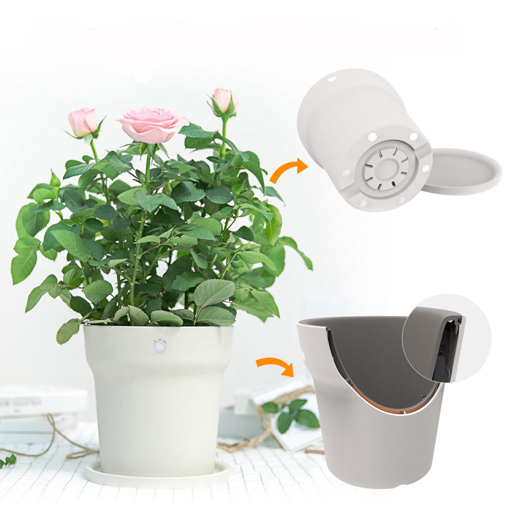 Original Xiaomi Flora Smart Flower Pot Monitor Digital Plants Grass