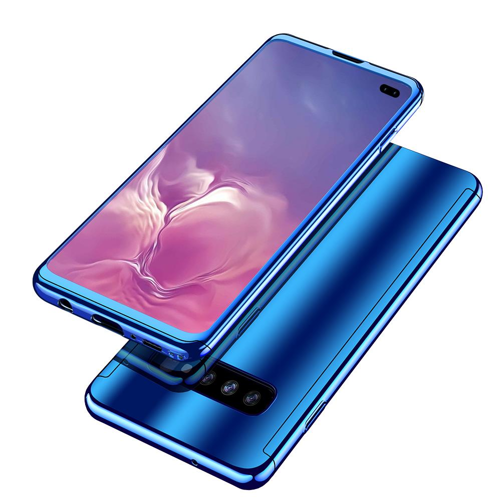 Bakeey Plating 360° Full Body PC Front+Back Cover Protective Case+HD Film For Samsung Galaxy S10e/S10/S10 Plus