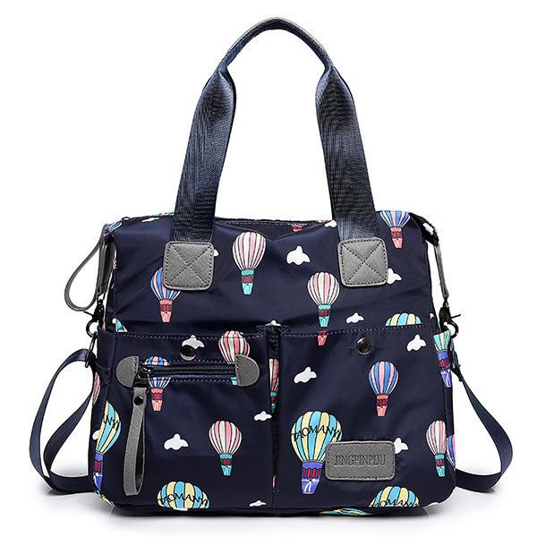 0ae067cc6c Women Nylon Multi Pocket Waterproof Lightweight Handbag Shoulder Crossbody  Bag COD