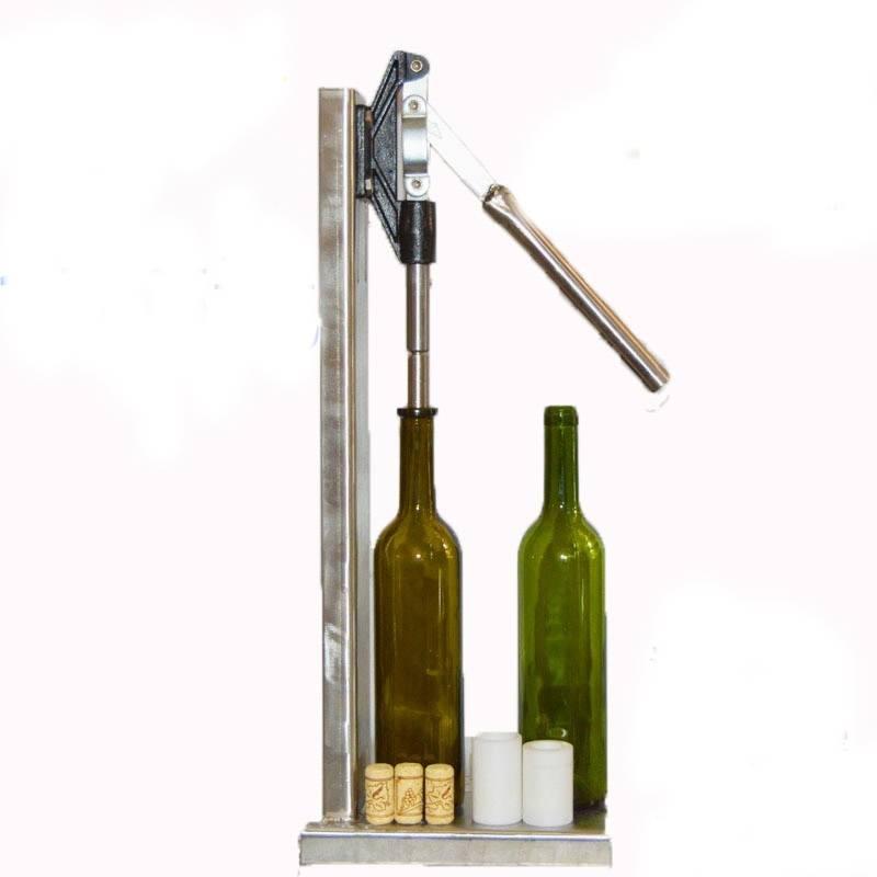 Edelstahl Handbuch Flasche Verkorkungsmaschine ZuhauseBrew Weinflasche Cap Pressmaschine