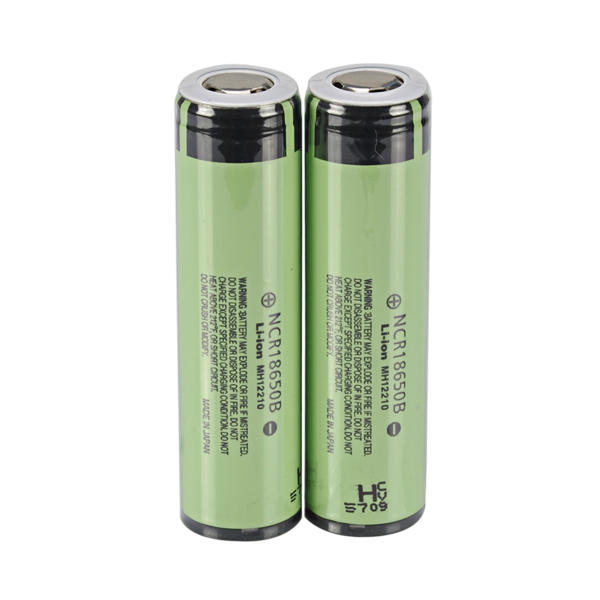 2PCS NCR18650B 3400mAh 3.7V Gold Plating Protected Rechargeable Li-ion Battery