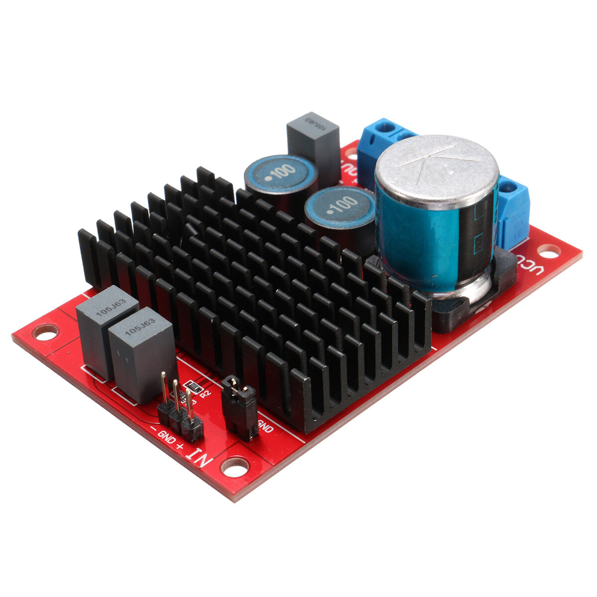 Dc 12v 24v 100w Btl Out Tpa3116 Mono Channel Digital Power Audio Semiconductors And Electronics In An Easy To Understand Amplifier Board