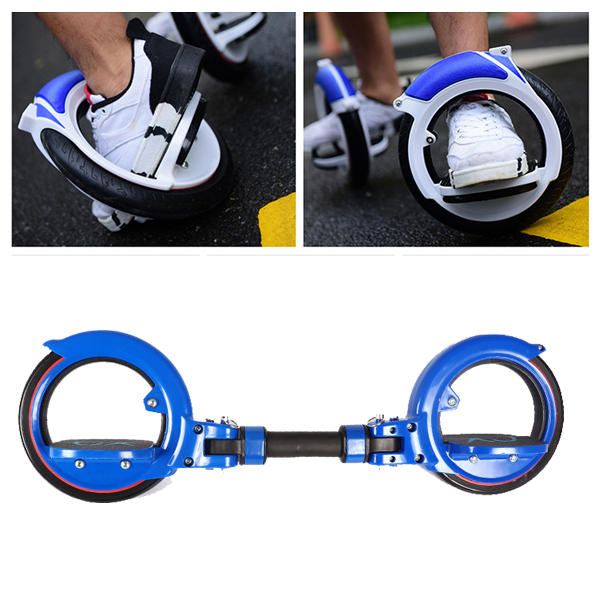 200kg Load-bearing PU Two Wheel Scooter Extreme Sport Drift Skateboard Balancing Scooter For Adult