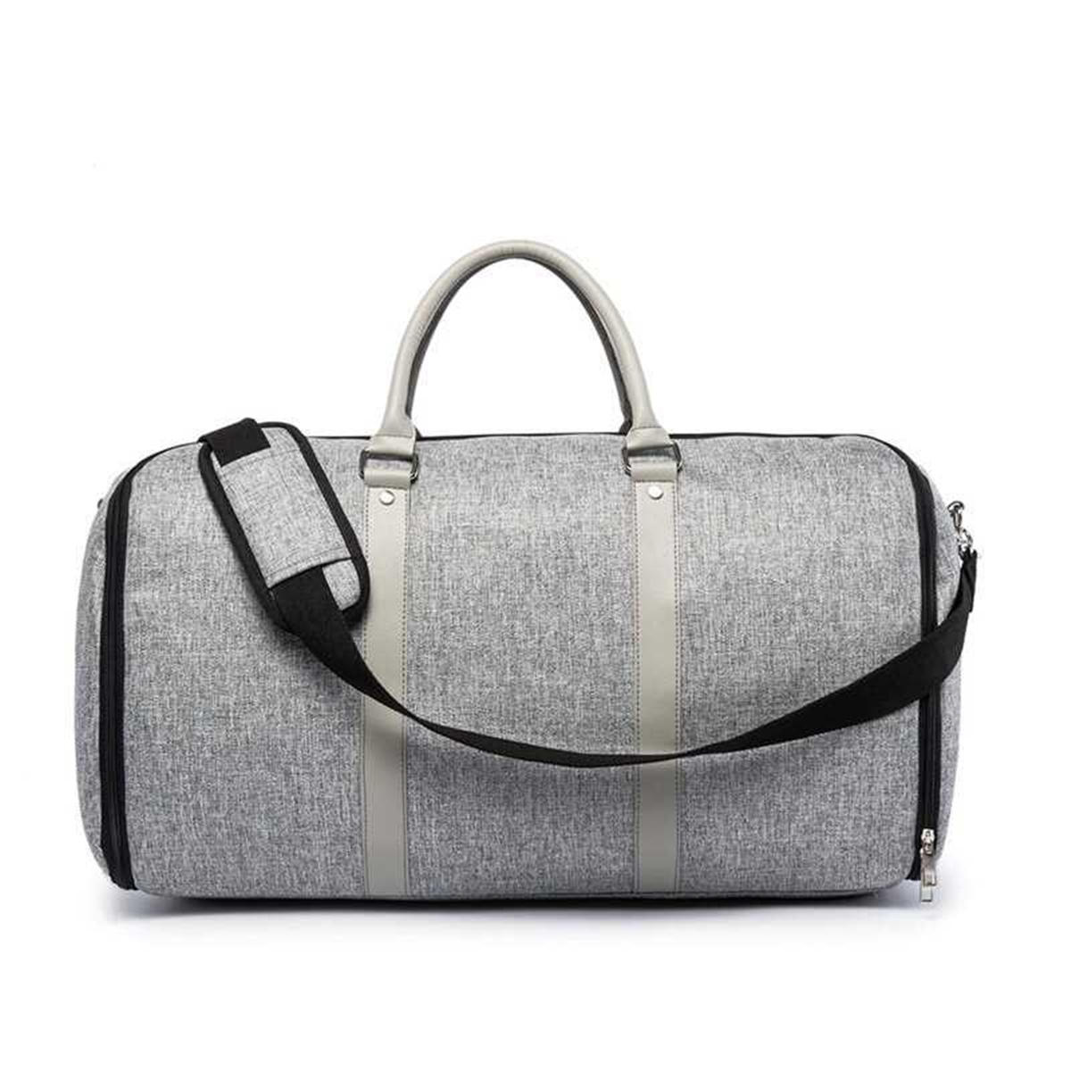Men 2 In 1 Outdoor Business Travel Suit Bag Sports Gym Luggage Clothing Storage Pouch Organizer