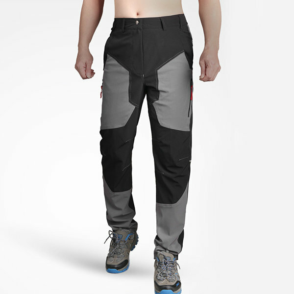 bcf7822696a Outdoor Waterproof High Elastic Climbing Trousers Mens Ultra Thin  Breathable Cool Dry Sport Pants COD