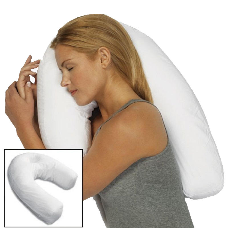 Unisex Sleeper Pillow Neck Spine Shoulder Support Cushion