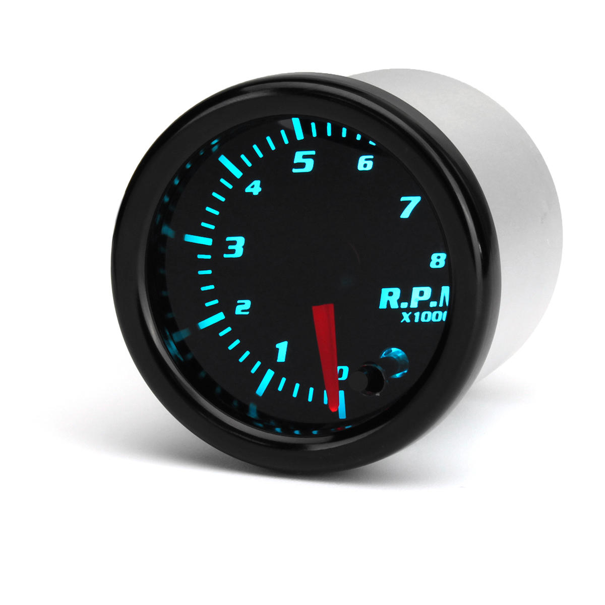 universal 2 inch 52mm tachometer tach rpm gauge digital 7 color led