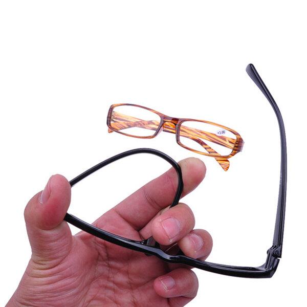 Men Women HD Full Frame Super Lightweight Reading Glasses Flexible Reader Presbyopic Glasses