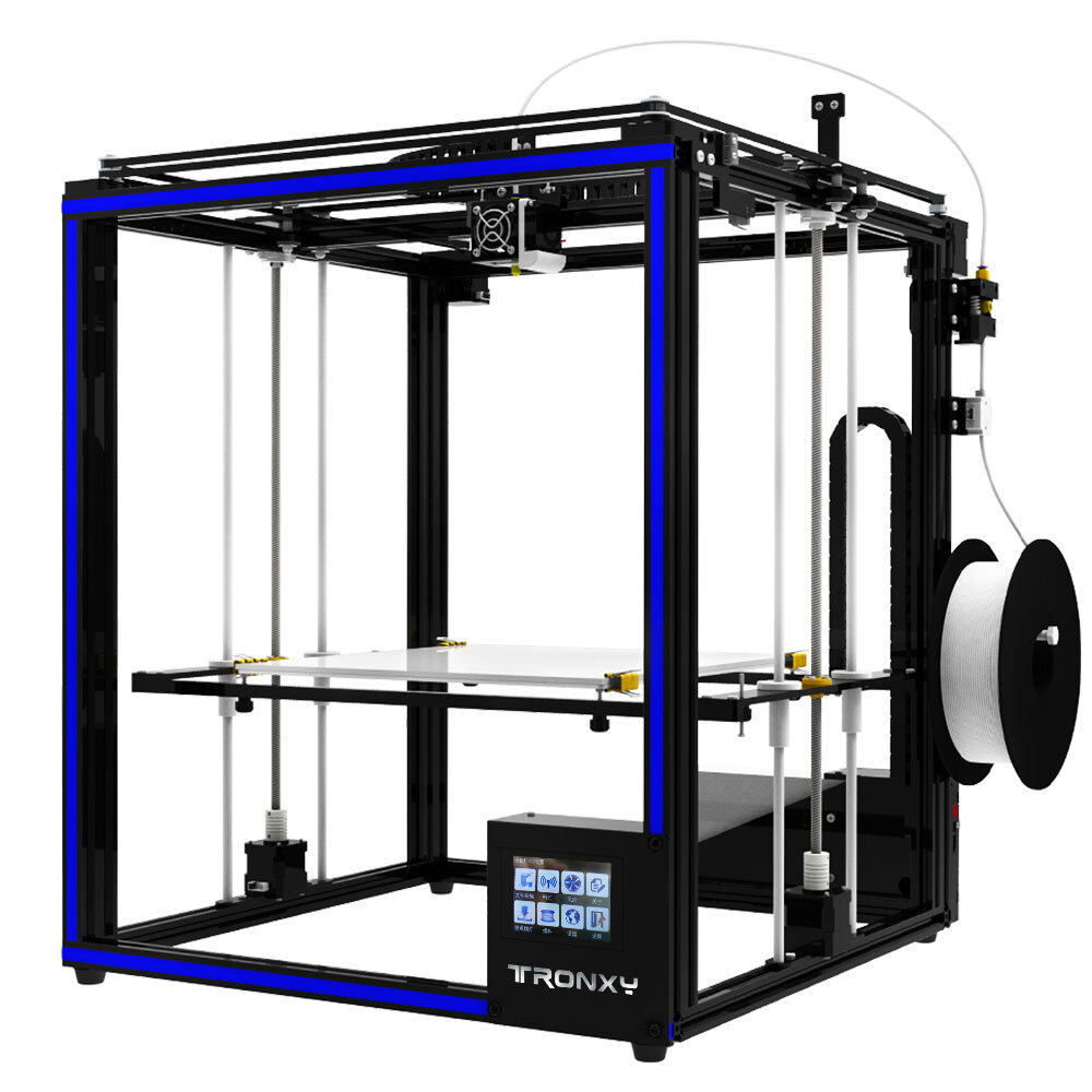 "TRONXY® X5ST-400 DIY Aluminum 3D Printer Kit 400*400*400mm Large Printing Size With 3.5"" Touch Screen/Power Resume/Filament Run Out Detection/Dual Z-axis Rod"