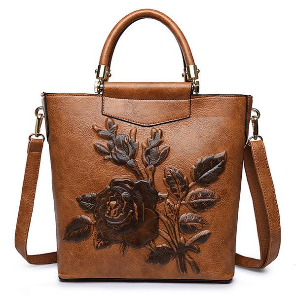 Sacs à bandoulière élégant en style national Flower Pattern Crossbody Bags For Women