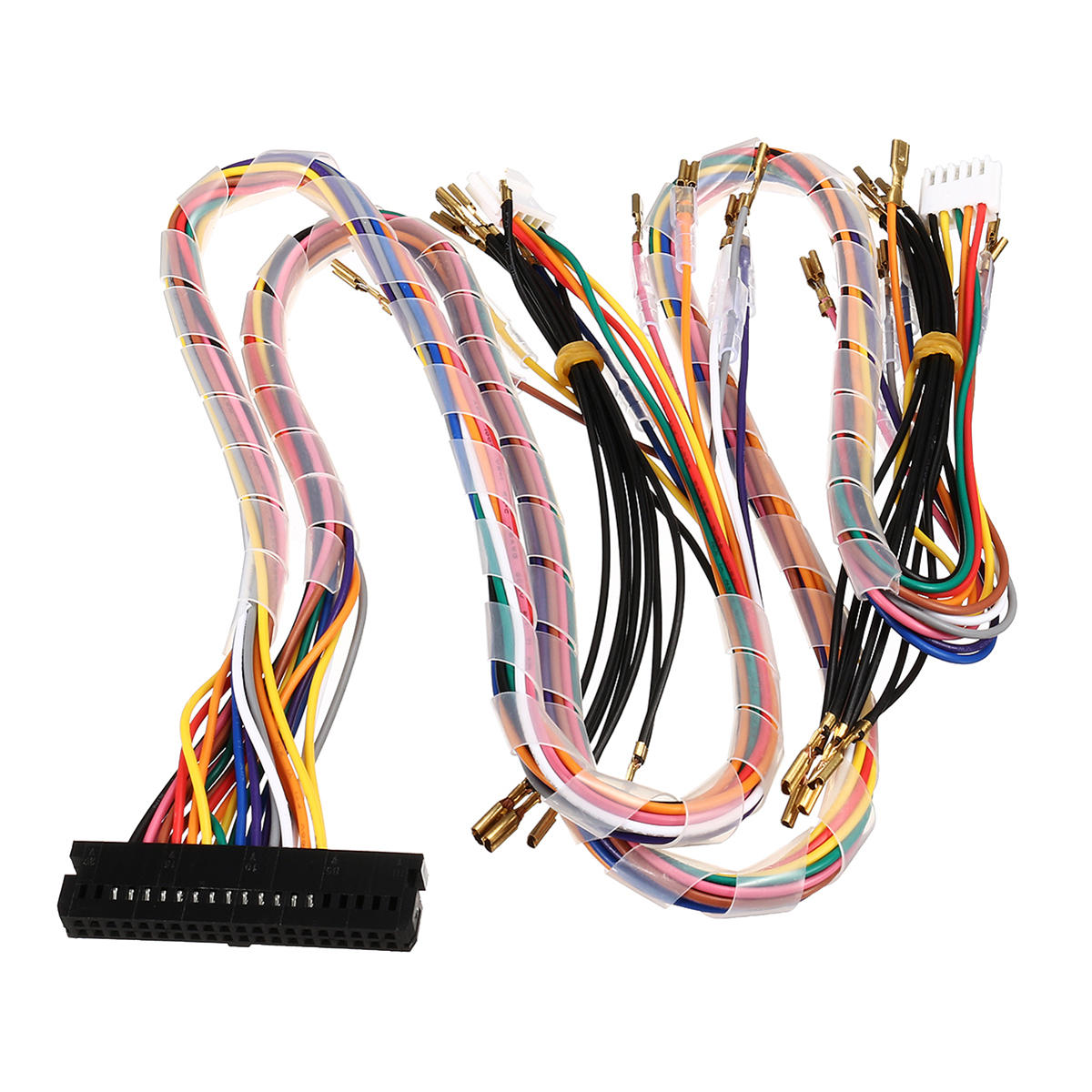 Awesome Wiring Harness Cable Replacement Parts Assemble For Arcade Jamma Wiring Digital Resources Bemuashebarightsorg