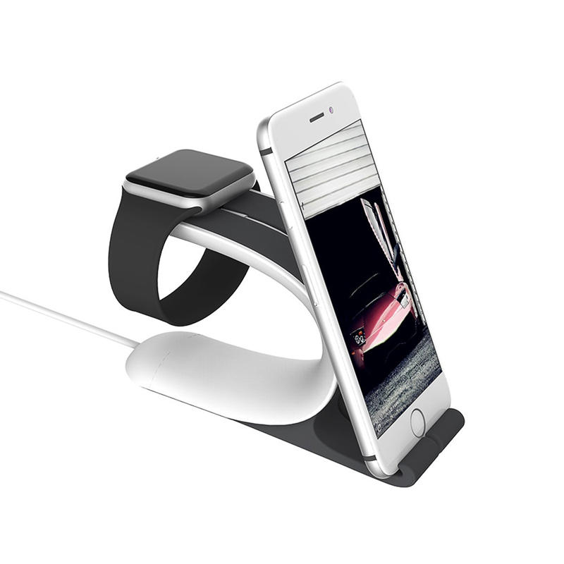 Oplaadstation Siliconen Dock Houder Station PhonE-mount voor Apple Watch 38 / 42MM