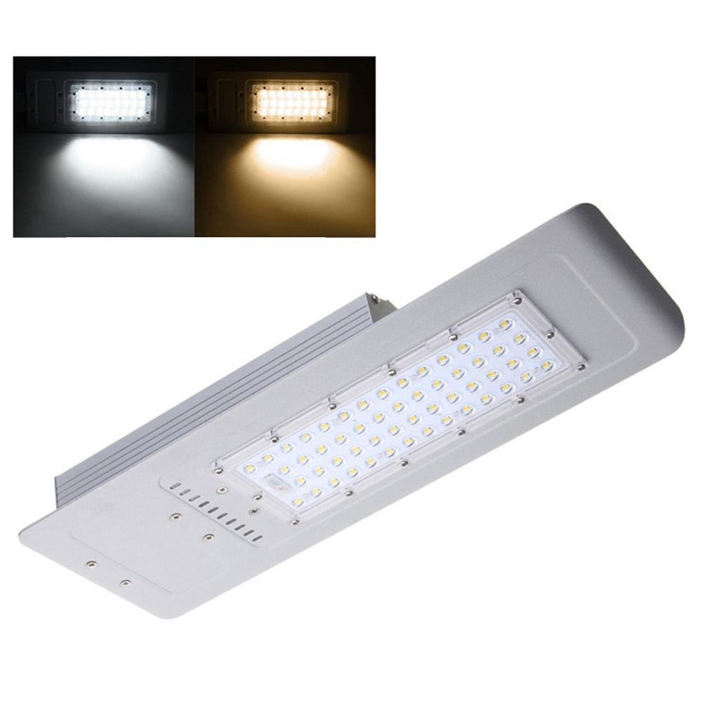 60W 54 LEDストリートロードライト防水屋外庭アルミランプの投光器AC100-240V