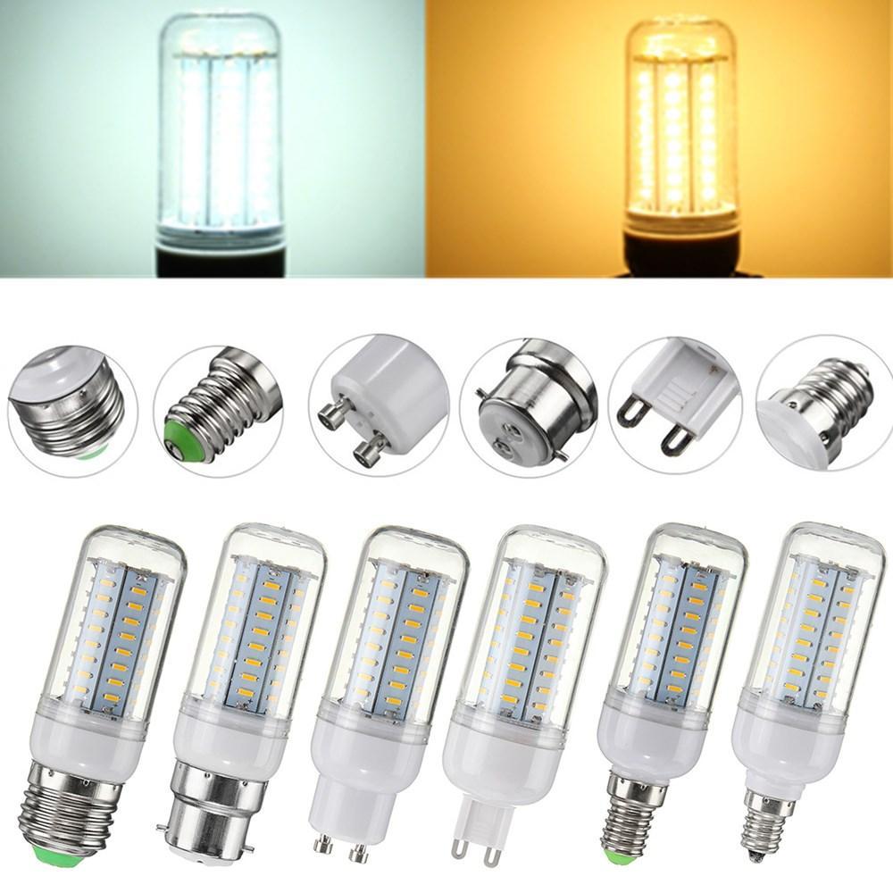 5W SMD4014 E27 E14 E12 G9 GU10 B22 Lámpara de la bombilla del maíz del LED para la decoración casera
