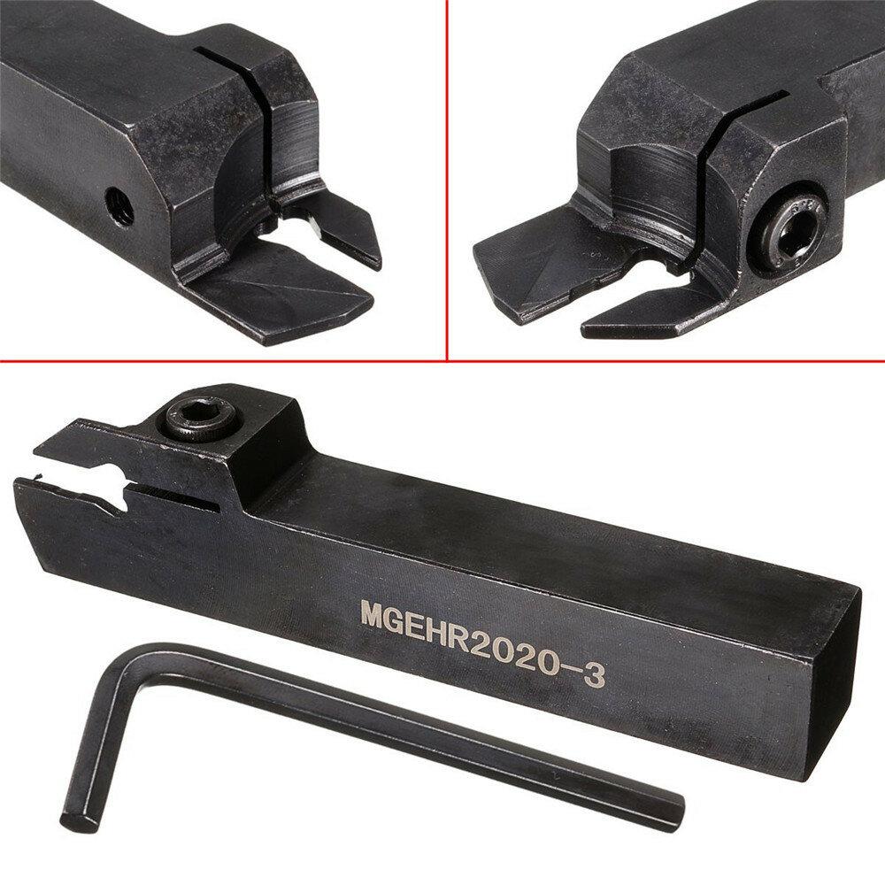 MGEHR2020-3 20mmx125mm Soporte de corte Ranura Cortador Torno Torneado herramienta Soporte
