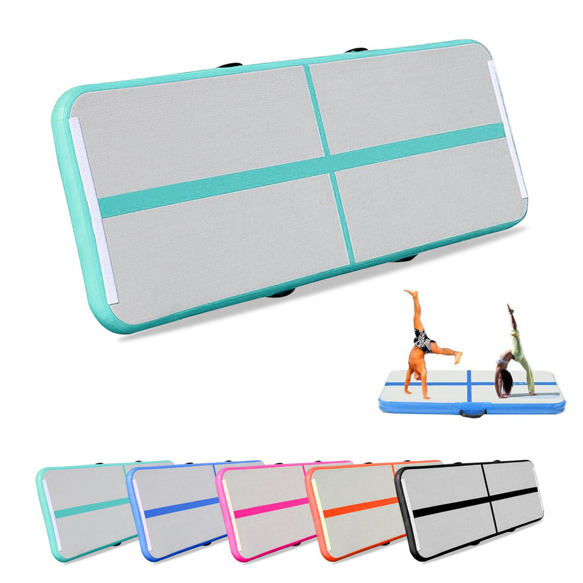 xxinch gym airtrack gymnastics mat inflatable gym