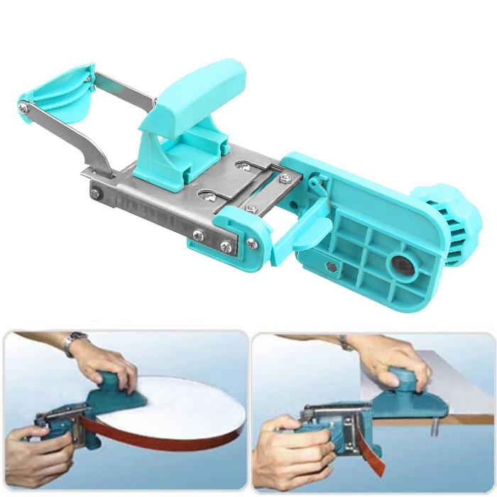 New Woodworking Crved Straight Manual Edge Banding Machine