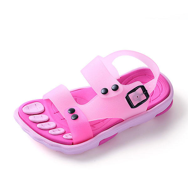 f7a2d401f1d56 boys girls summer beach sandals children slip resistant wear-resistant shoes  kids slippers at Banggood sold out