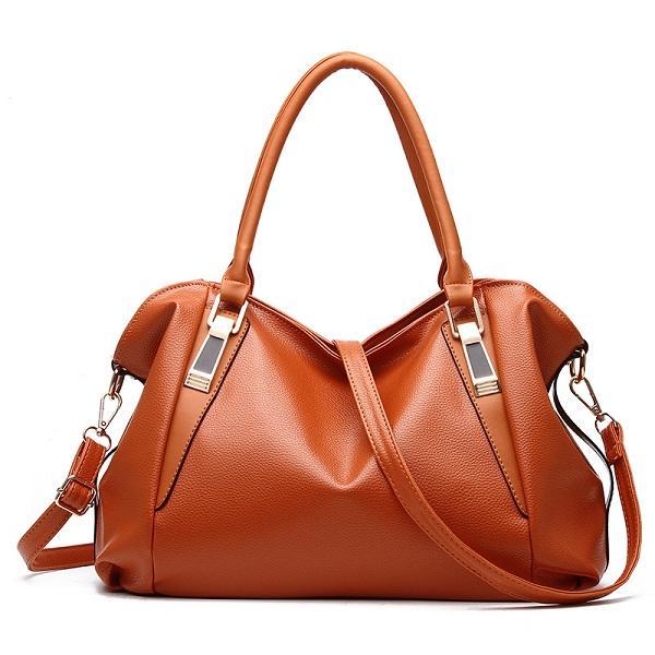 المرأة بو الجلود أنيقة اليومية حقيبة يد كتف حقيبة كروسبودي