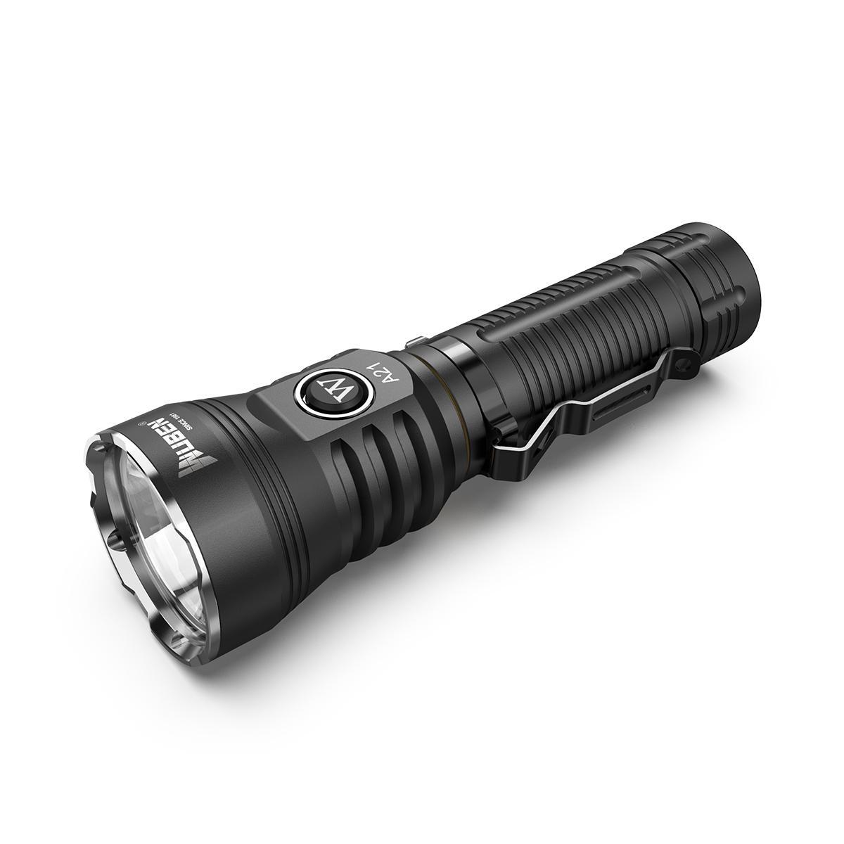 Wuben A21 XHP70 4200Lumens 6Modes Brightness Long-rang Portable LED Searching Flashlight