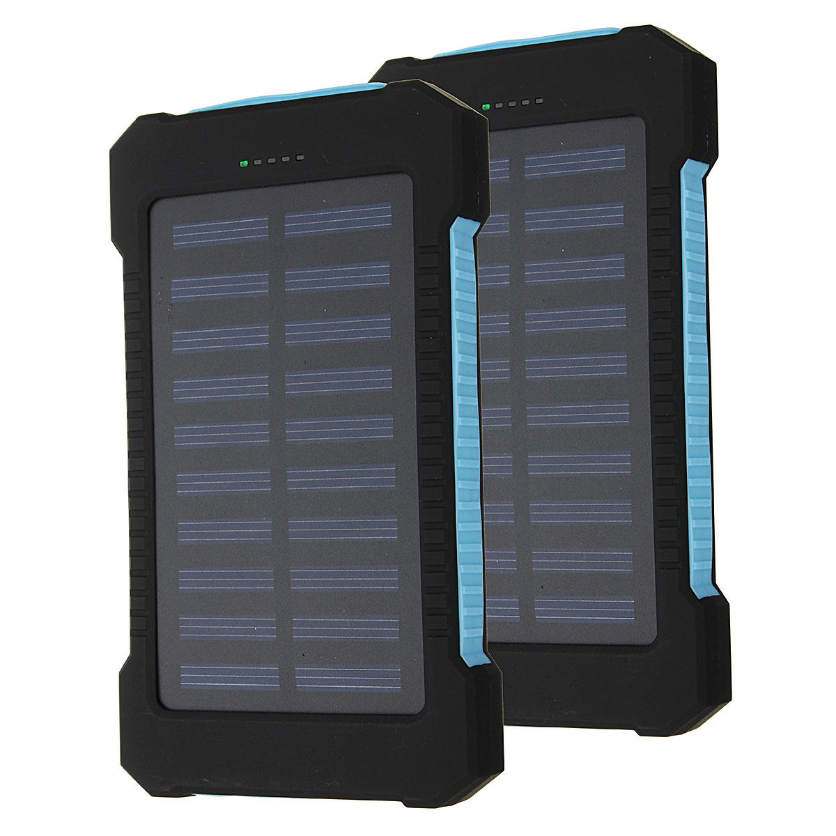 8000mah Solar Power Bank Dual Usb Battery Charger Set For Mobile Powered Arduino Weather Station Li Ion Phone
