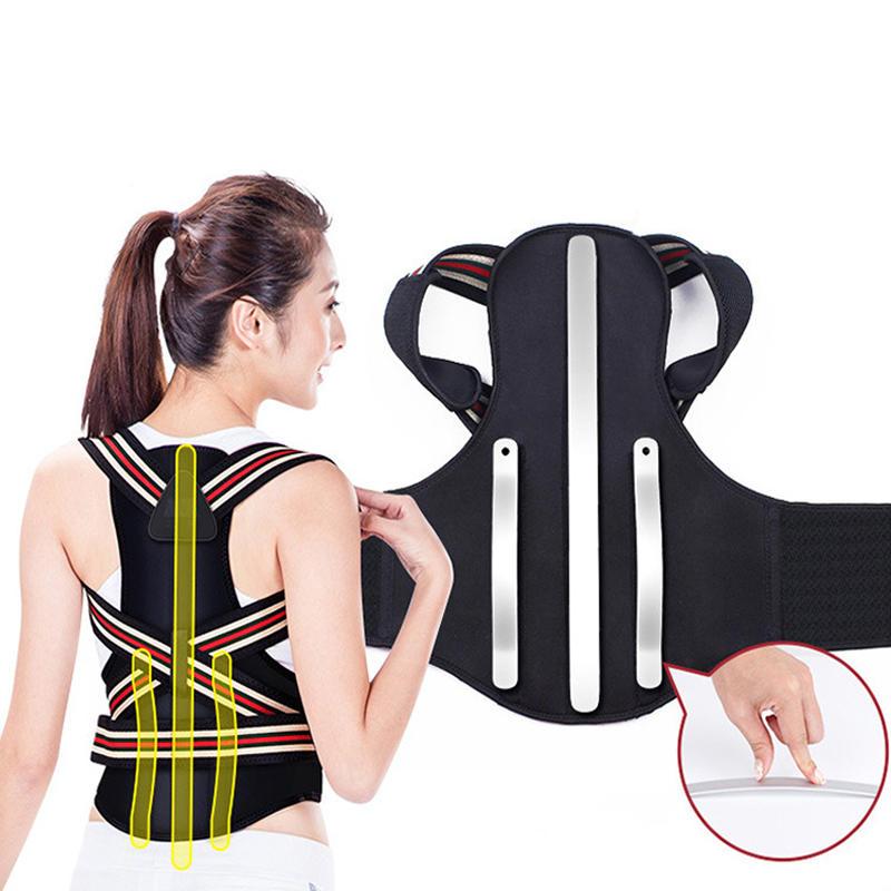 Back Support Protection Back Shoulder Posture Pain Relief Co