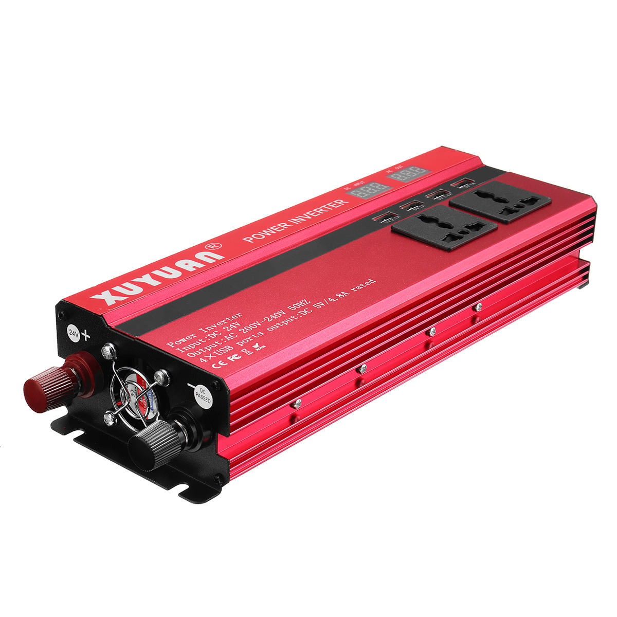 5000w 12v 24v Dc To 110v 220v Ac Solar Power Inverter Led Modified Sine Wave Circuit With Waveform Images Verified