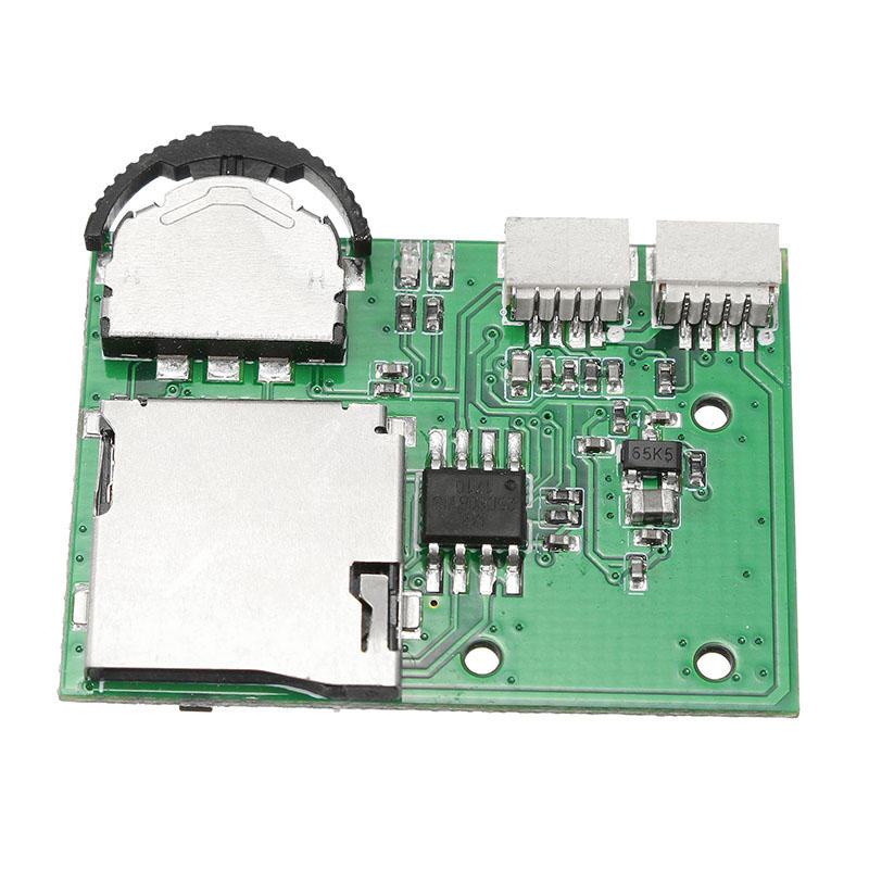 DIY Micro DVR เครื่องบันทึกวิดีโอขนาดเล็กสนับสนุนการเล่นแผ่นบันทึกข้อมูล SD Card สำหรับ FPV กล้อง หน้าจอ