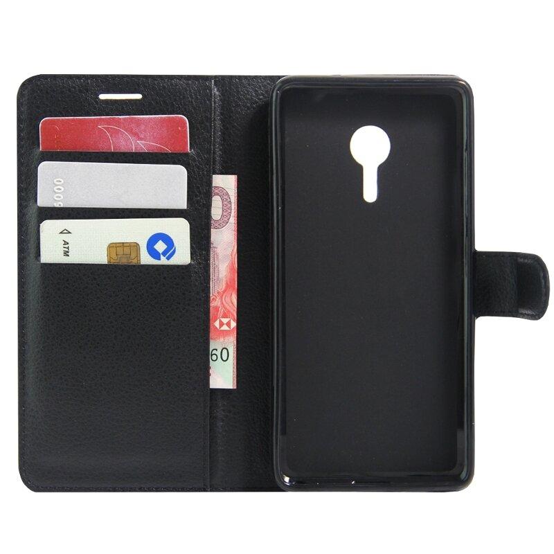 Flip Stand Wallet TPU + étui de protection en cuir pour Lenovo ZUK Z2 Pro