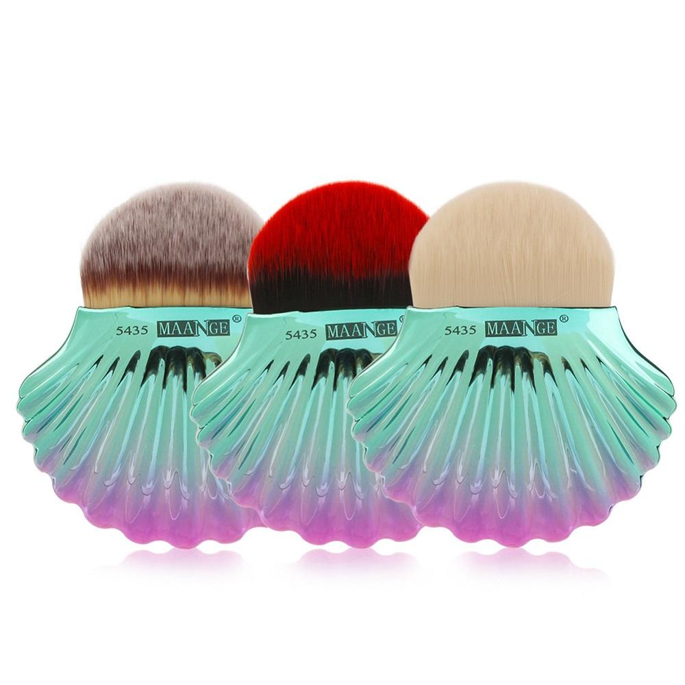 1Pc Big Shell Powder Brush Foundation Makeup Brushes Women Cosmetic Tools