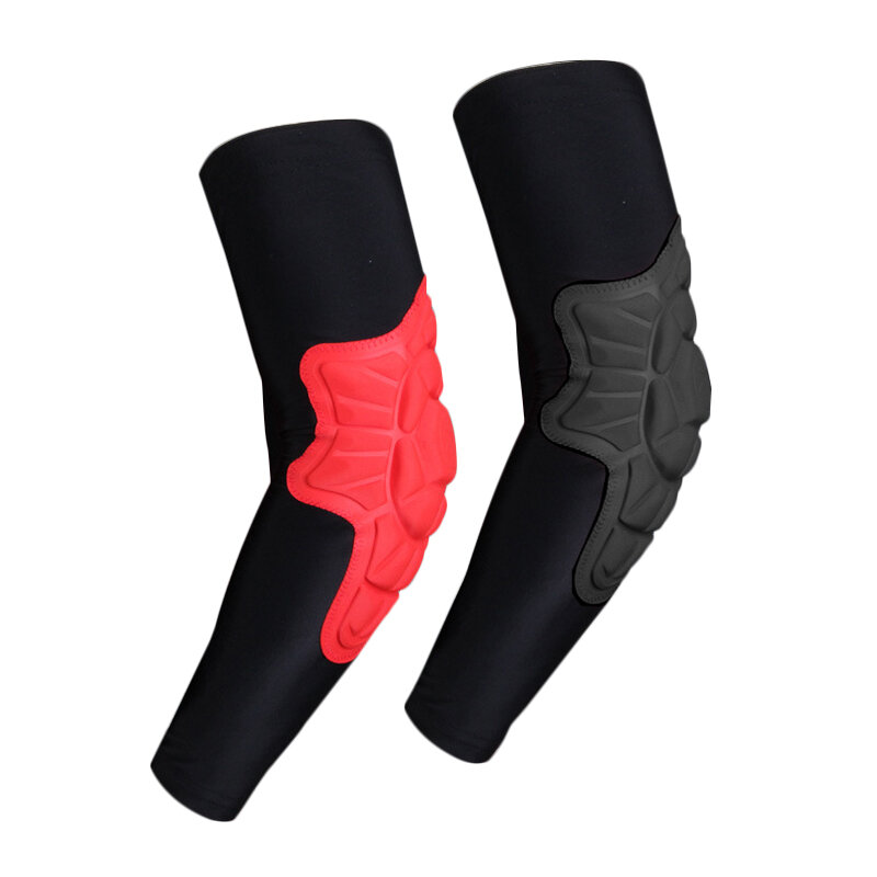 Braces & Supports Basketball Sports Knit Elbow Protector Sports Outdoor Fitness Comfort Shock Protection Elbow Armguard Supplies Personal Health Care