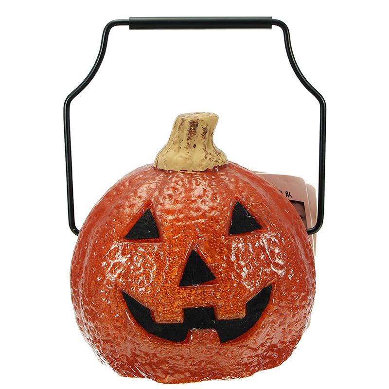 Halloween Portable Pumpkin Light Battery Power Supply For Home Decoration Children Gift