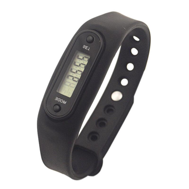 BIKIGHT Шарикоподшипник для ручного управления LCD Шагомер Smart Здоровье Браслет для сна Спорт-шагомер Wristband