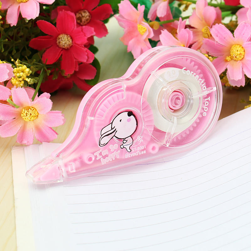 Lovely 5mm x 20m Correction Tape Roller Student Study Office Stationery Tool School Supplies