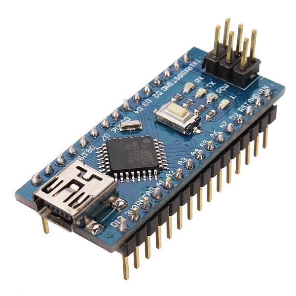 3Unids Geekcreit® ATmega328P Compatible con Arduino Nano V3 Versión Mejorada sin Cable
