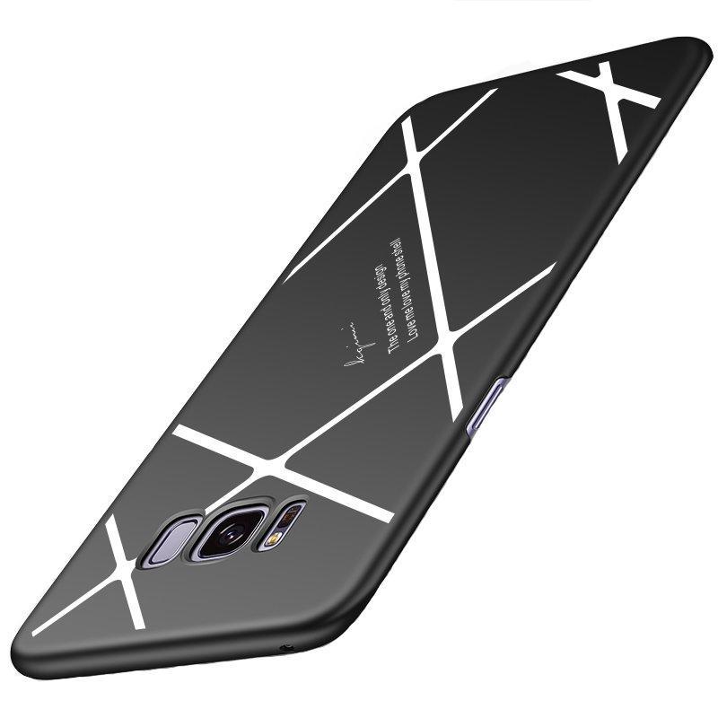 Linee Spogliate Modello Micro Matte Anti Custodia per impronte digitali per Samsung S8 Plus
