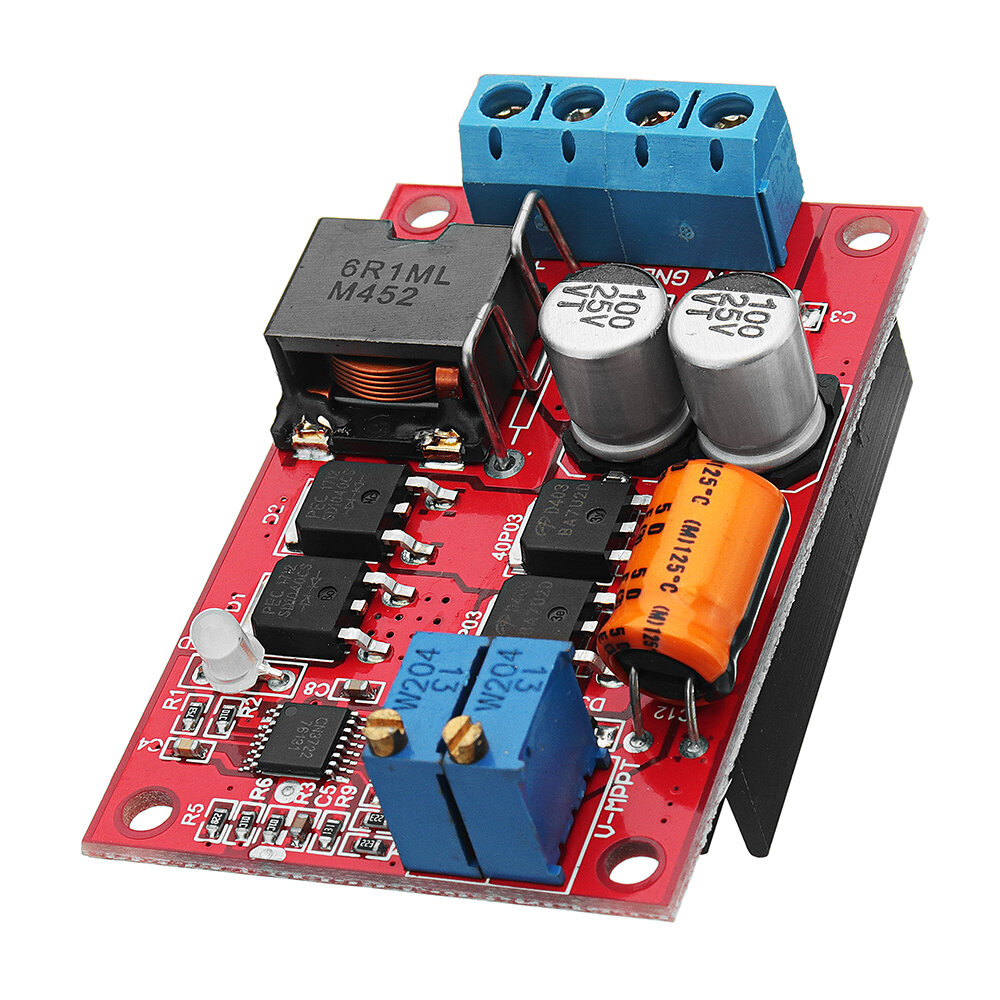 Mppt 5a Solar Panel Regulator Controller Battery Charging 9v 12v 24v Circuit Showing How A Can Be Used As Automatic Switch