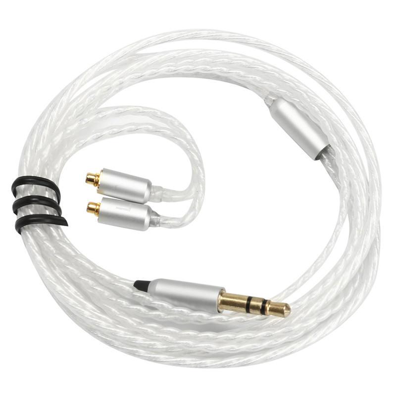 이어폰 케이블 교체 실버 플레이트 3.5mm 이어폰 용 케이블 SE846 SE535 SE425 SE315 SE215 UE900