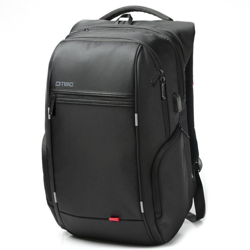 "15.6 ""/17.3"" Laptop Backpack Borsa Travel Borsa Con porta USB di ricarica esterna"